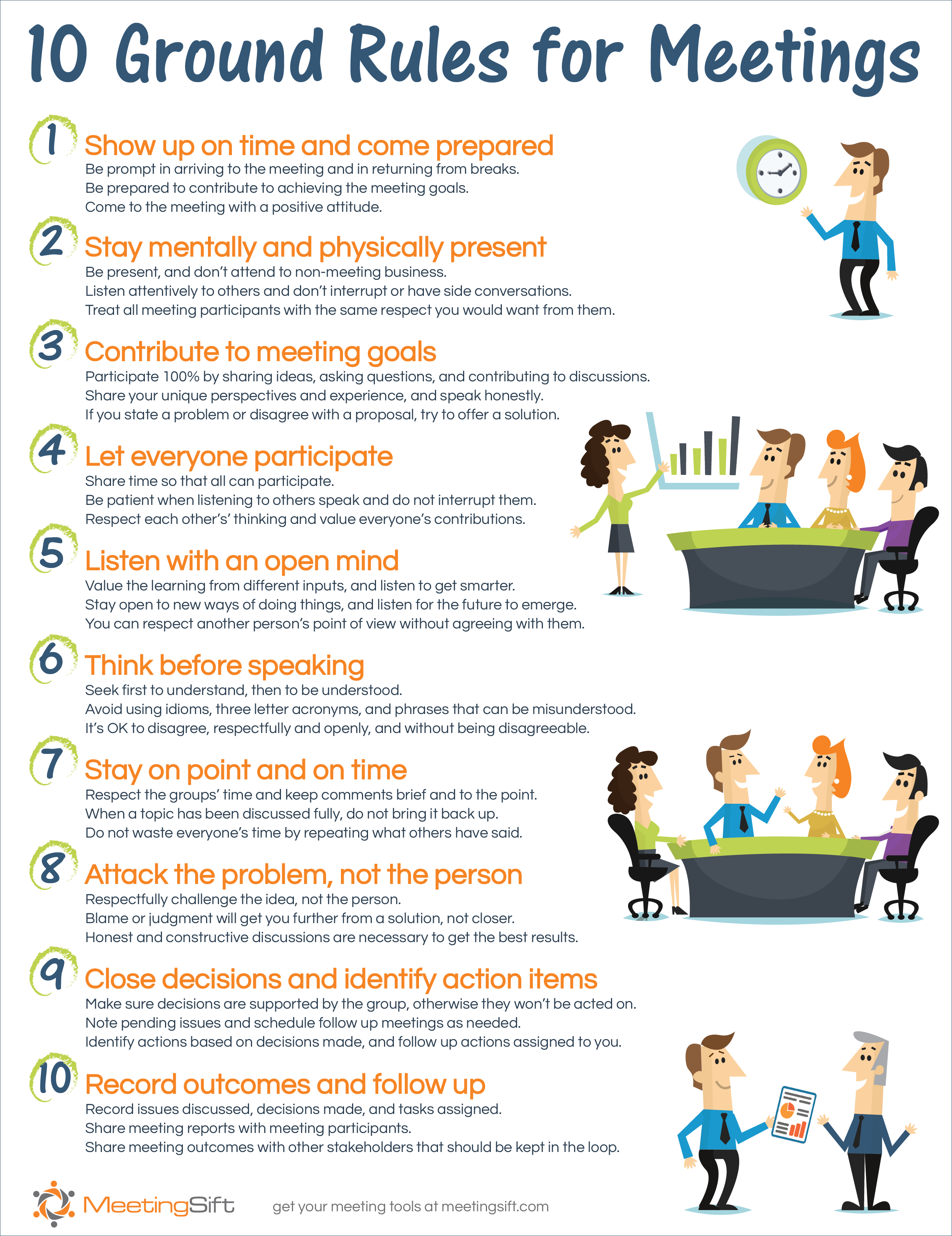 The Six Most Common Types Of Meetings Meetingsift
